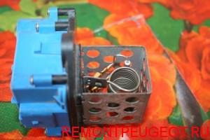 Резистор малой скорости вентилятора