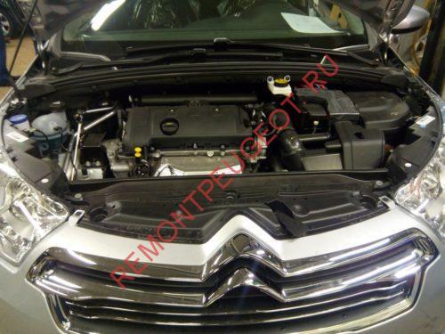 Двигатель Ep6 на автомобиле ситроен с4