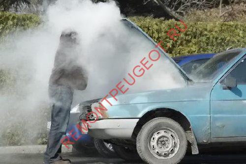 Греется двигатель у авомобиля