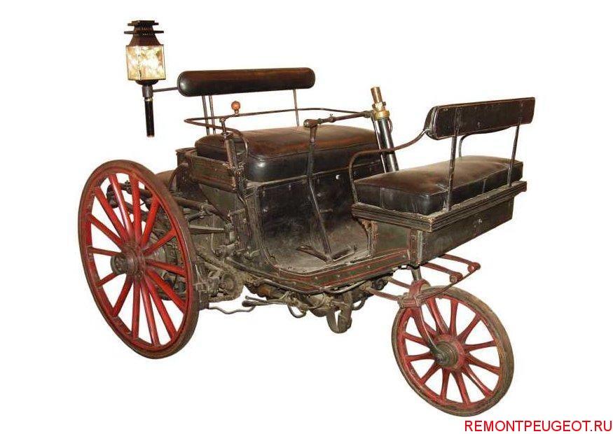 Первый автомобиль Peugeot 1889