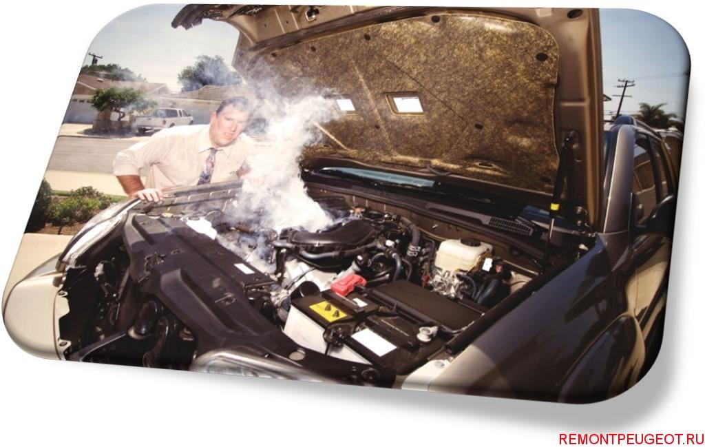 греется двигатель в авто
