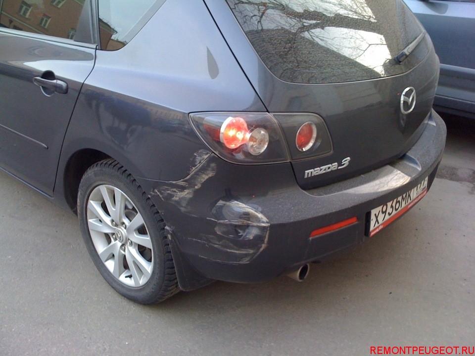 поцарапали машину