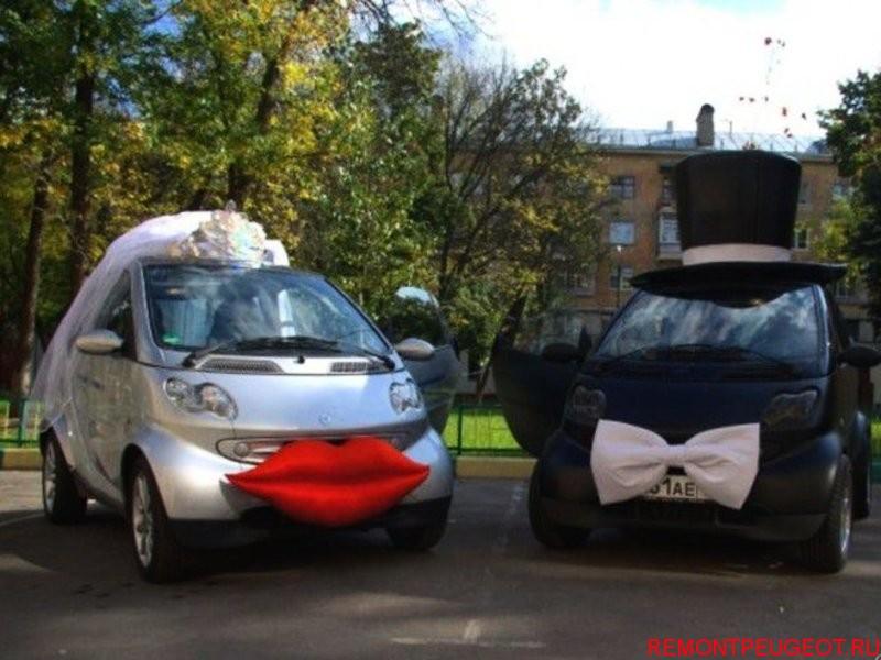 Машина невесты своими руками