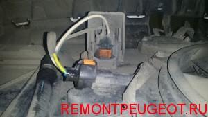 Резистор вентилятора на Пежо