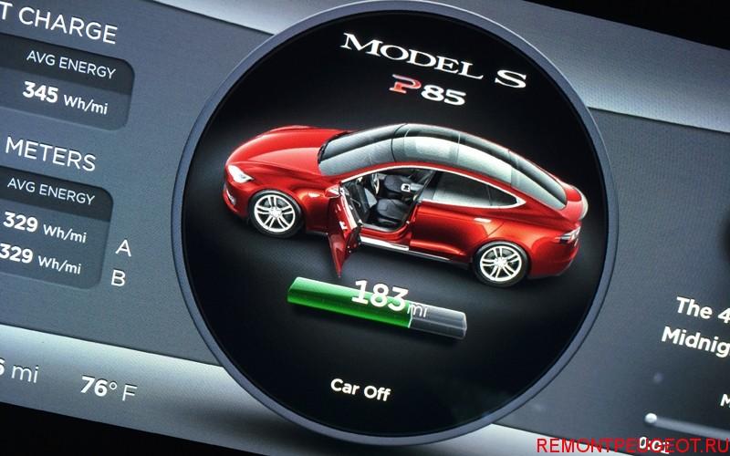 Tesla запас хода