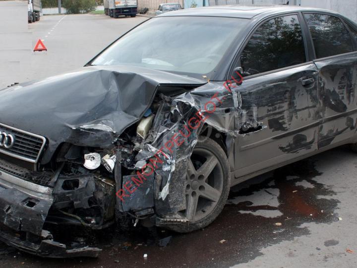После аварии на продажу