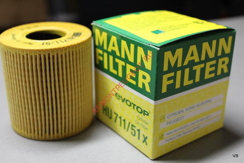 фильтр масляный lдля peugeot