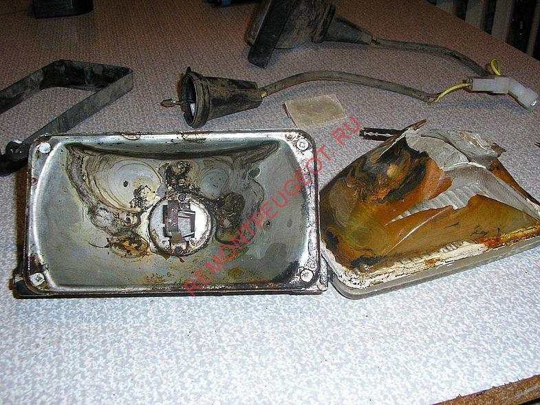 Фото №12 - ремонт противотуманных фар ВАЗ 2110