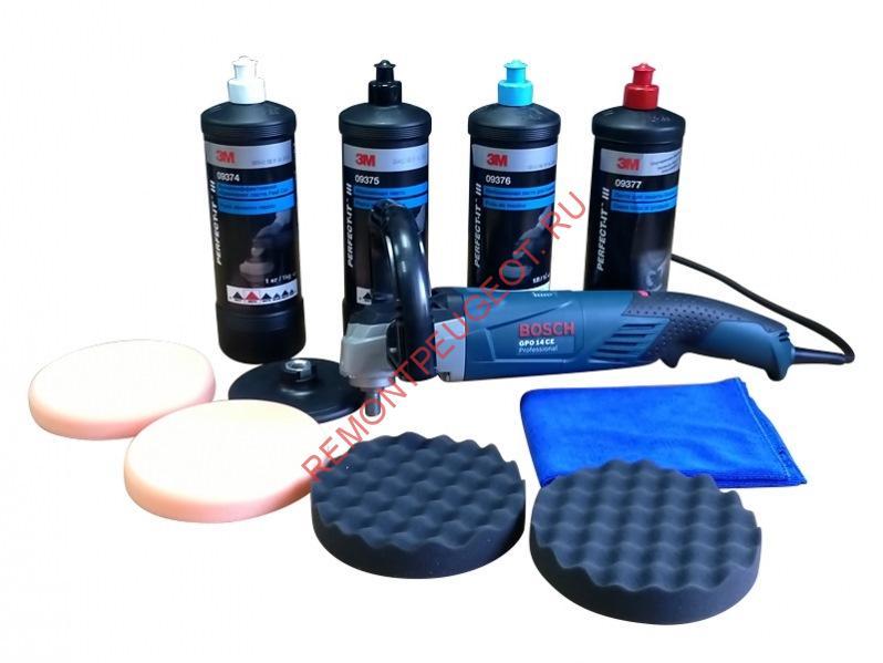материалы для полировки фар своими руками