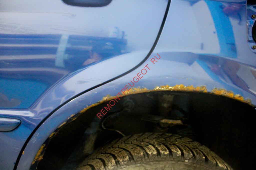 удаление ржавчины с кузова автомобиля