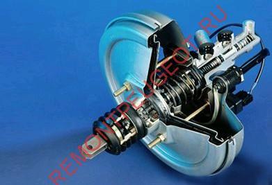 Вакуумный усилитель тормозной системы, ремонт или замена