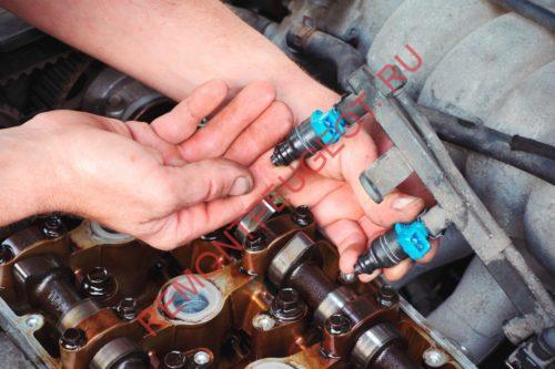 Промывка форсунок двигателя