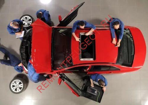 предпродажная подготовка нового автомобиля