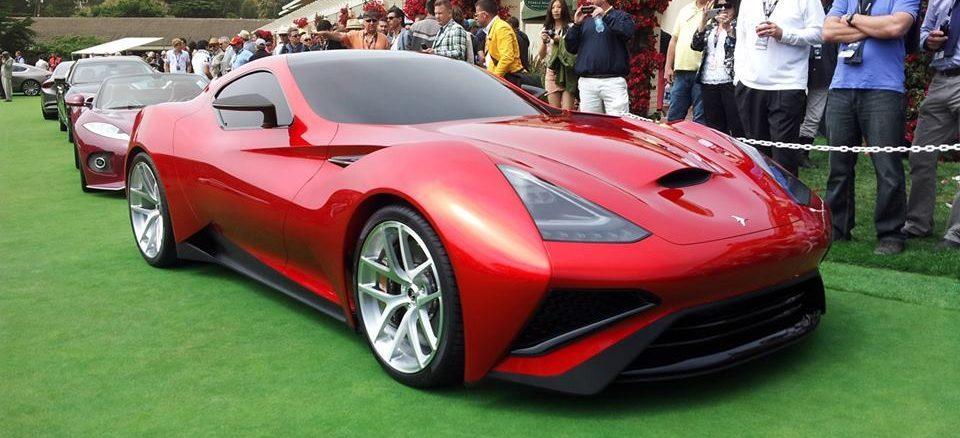 автомобиль из титана Icona Vulcano Titanium