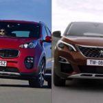 Сравнение Peugeot 3008 и KIA Sportage