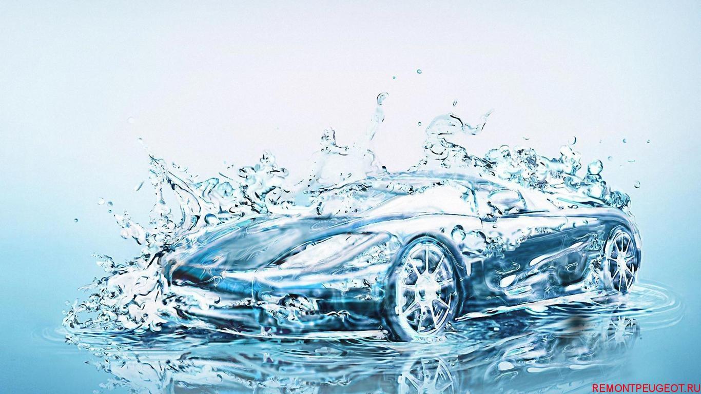 автомобиль на воде