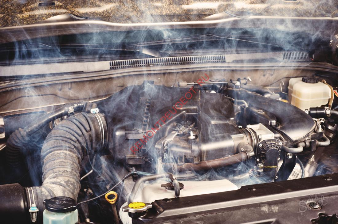 Греется двигатель