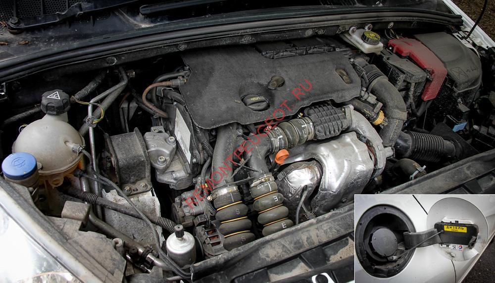 Проблемы дизельного двигателя пежо