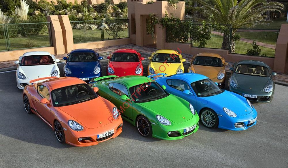 Безопасный цвет автомобиля