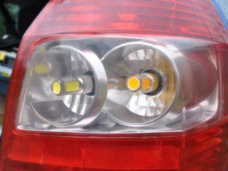 Лампочки задних габаритов