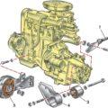опоры двигателя