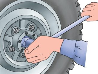 Регулировка подшипников колес