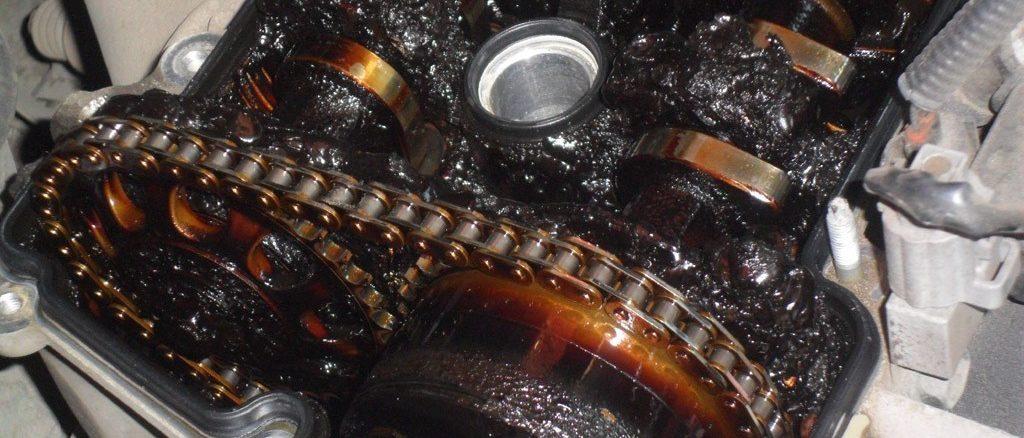 Нагар в двигателе