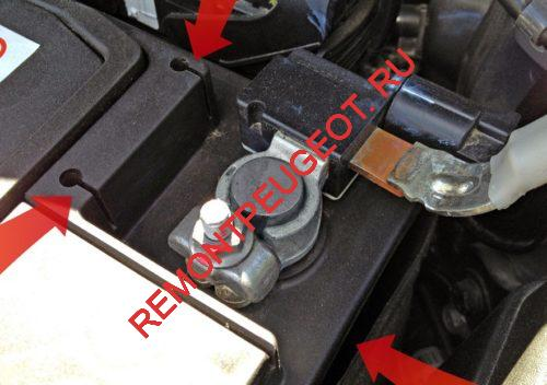 защиты от перезаряда акб автомобиля на минусовой клемме